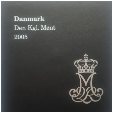 DANIJA 2005 m. OFICIALUS BANKO PROOF RINKINYS