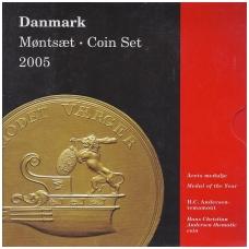 DANIJA 2005 m. OFICIALUS BANKO RINKINYS