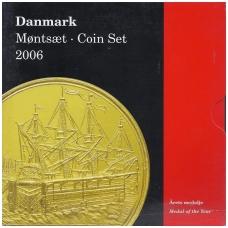 DANIJA 2006 m. OFICIALUS BANKO RINKINYS