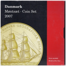 DANIJA 2007 m. OFICIALUS BANKO RINKINYS