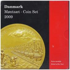 DANIJA 2009 OFICIALUS BANKO RINKINYS