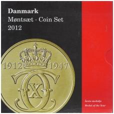 DANIJA 2012 m. OFICIALUS BANKO RINKINYS