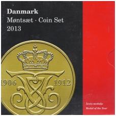 DANIJA 2013 m. OFICIALUS BANKO RINKINYS