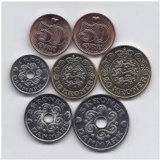 DANIJA 2016 m. 7 monetų komplektas