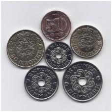 DANIJA 2017 m. 6 monetų komplektas