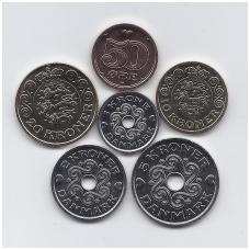DANIJA 2018 m. 6 monetų komplektas