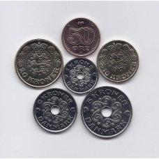 DANIJA 2019 m. 6 monetų komplektas