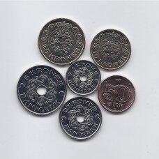 DANIJA 2021 m. 6 monetų rinkinys