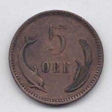 DANIJA 5 ORE 1894 KM # 794 VF