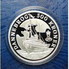 DANIJA 500 KRONER 2008 DANNEBROG