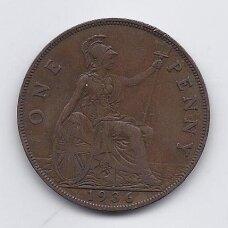 DIDŽIOJI BRITANIJA 1 PENNY 1936 KM # 838 VF