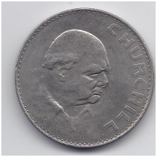 DIDŽIOJI BRITANIJA CROWN 1965 KM # 910 XF ČERČILIS