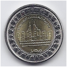 EGIPTAS 1 POUND 2019 KM # new UNC ALAMAIN