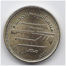 EGIPTAS 50 PIASTRES 2019 KM # new NAUJI ASYUT TILTAI