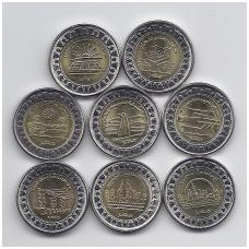 EGIPTAS 8 X 1 POUND 2019 m. monetų rinkinys