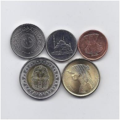 EGIPTAS 2008 - 2010 m. 5 monetų rinkinukas 2