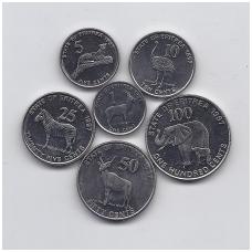 ERITRĖJA 1997 m. 6 monetų rinkinys