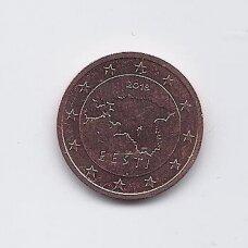 ESTIJA 2 EURO CENTS 2018 KM # 62 UNC