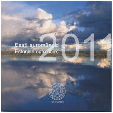 ESTIJA 2011 m. OFICIALUS BANKINIS EURO MONETŲ RINKINYS
