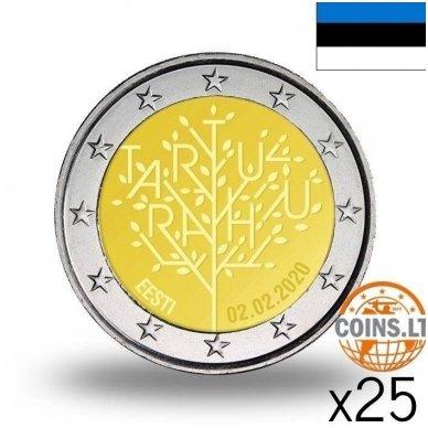 ESTIJA 2 EURAI 2020 TARTU SUTARTIS RITINĖLIS (25 vnt.)
