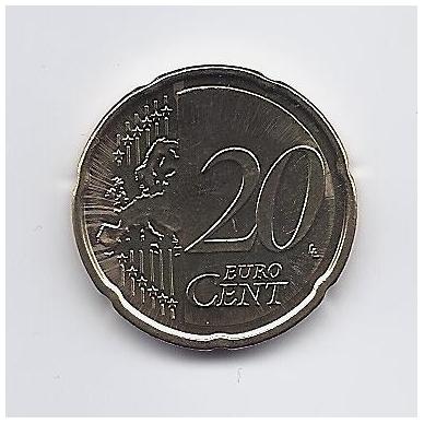 ESTIJA 20 EURO CENTS 2017 KM # 65 UNC 2