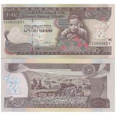 ETIOPIJA 10 BIRR 2003 P # 48c UNC