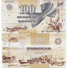 FARERŲ SALOS 100 KRONUR 2003 P # 42 UNC