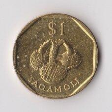 FIDŽI 1 DOLLAR 1998 KM # 73 XF