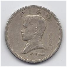 FILIPINAI 1 PISO 1972 KM # 203 F/VF
