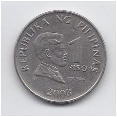 FILIPINAI 1 PISO 2003 KM # 269 VF