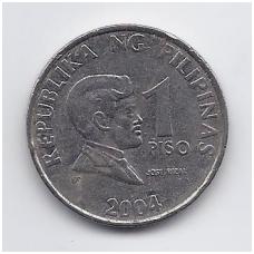 FILIPINAI 1 PISO 2004 KM # 269a VF