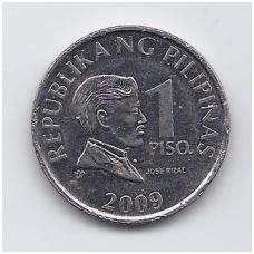 FILIPINAI 1 PISO 2009 KM # 269a VF