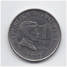 FILIPINAI 1 PISO 2012 KM # 269a VF