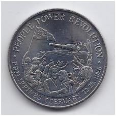 FILIPINAI 10 PISO 1988 KM # 250 AU REVOLIUCIJA