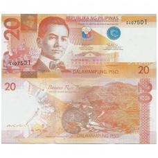 FILIPINAI 20 PISO 2017 P # new UNC