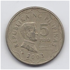 FILIPINAI 5 PISO 2003 KM # 272 VF