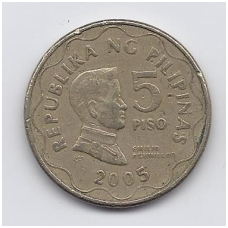FILIPINAI 5 PISO 2005 KM # 272 VF