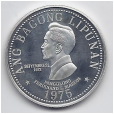 FILIPINAI 50 PISO 1975 KM # 212 PROOF FERDINAND E. MARCOS