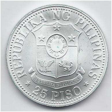 FILIPINAI 25 PISO 1976 KM # 214 UNC FAO 2