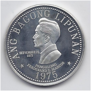 FILIPINAI 50 PISO 1975 KM # 212 PROOF FERDINAND E. MARCOS