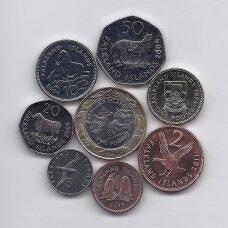 FOLKLANDO SALOS 2004 - 2019 m. 8 monetų rinkinys