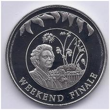 FOLKLANDO SALOS 50 PENCE 2002 KM # 97 UNC