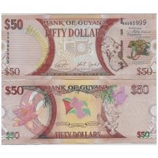 GAJANA 50 DOLLARS 2016 P # new UNC