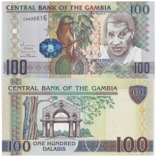 GAMBIJA 100 DALASI 2006 ND P # 29b UNC