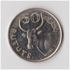 GAMBIJA 50 BUTUTS 1971 KM # 12 XF