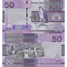GAMBIJA 50 DALASIS ND 2019 P # 40 UNC