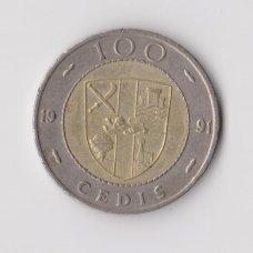 GANA 100 CEDIS 1991 KM # 32 VF