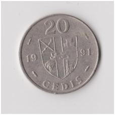 GANA 20 CEDIS 1991 KM # 30 VF