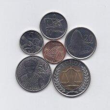 GANA 2007 - 2016 m. 6 monetų rinkinys