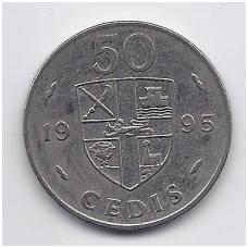 GANA 50 CEDIS 1995 KM # 31a VF